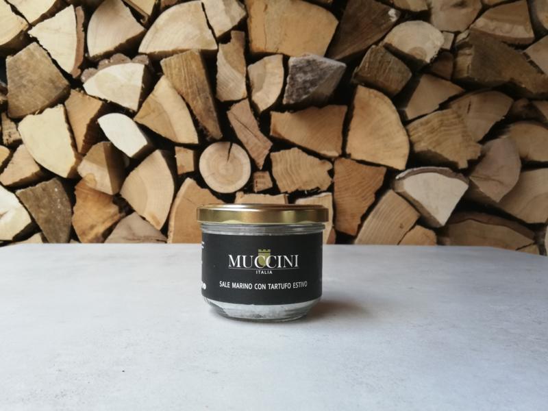 Zeezout met Zwarte Zomer Truffel | pot 250 gram
