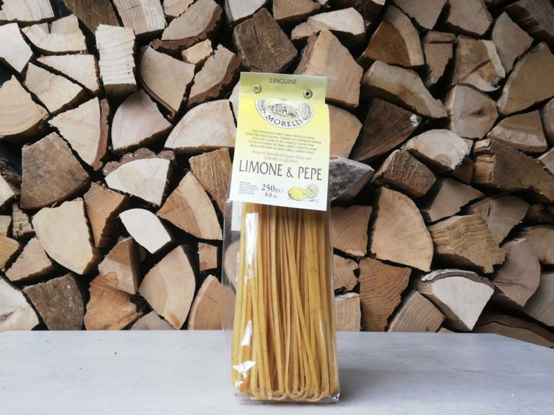 Morelli Pasta - Linguine Lemon Pepper   250 GRAM