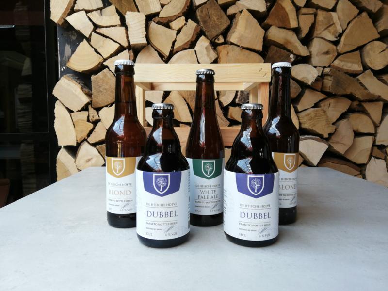 Heische Hoeve Bierpakket   5 flesjes 33cl naar keuze