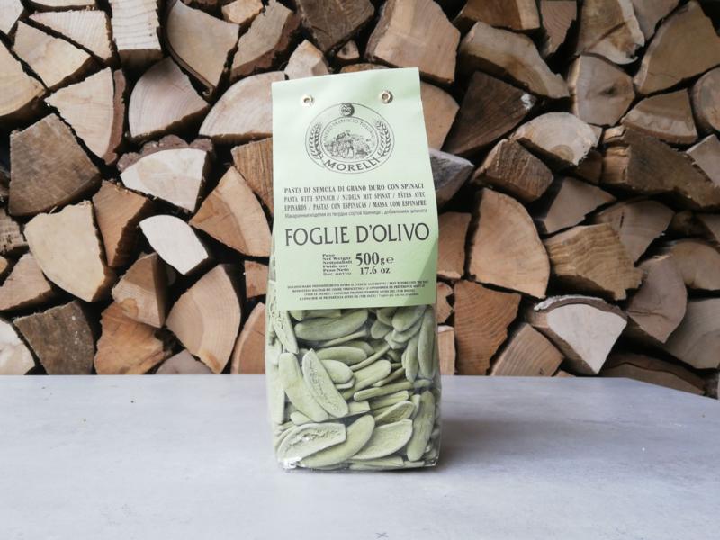Morelli Pasta - Foglie Spinaci / Ulivo | 500 GRAM