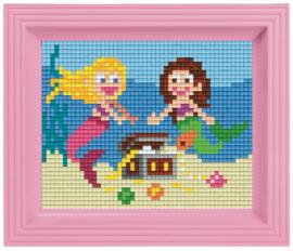 Pixelhobby geschenkverpakking - zeemeerminnen