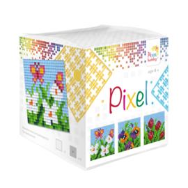 Pixelhobby kubus - bloemen