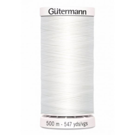 Gütermann allesnaaigaren 500m wit