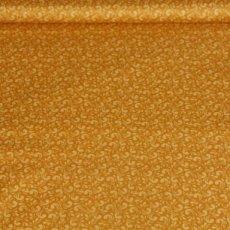 Katoen - Twirl mustard gold