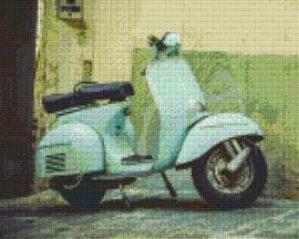 Pixelhobby set - scooter - 9 basisplaten