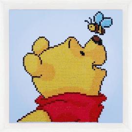 Diamond painting - Pooh met bij