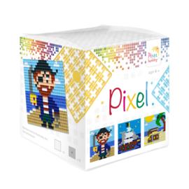 Pixelhobby kubus - piraten