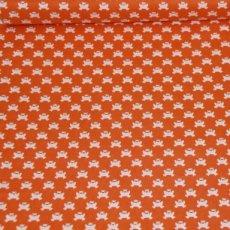 Katoen - Hopping along orange