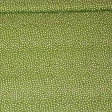 Katoen - Frau tulpe bolletjes groen