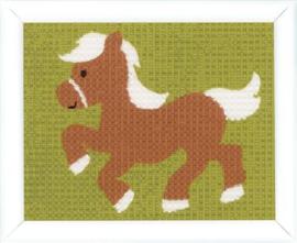 Borduurset - pony