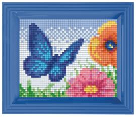 Pixelhobby geschenkverpakking - vlinder