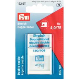 Prym machinenaalden tweeling stretch 75-4.0