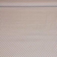 Katoen - Polkadot blauw/wit