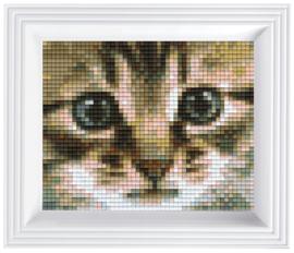 Pixelhobby geschenkverpakking - poezenblik
