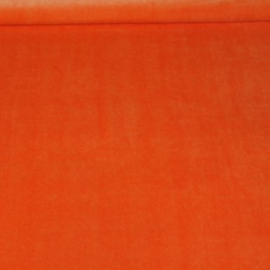 Nicky velours - oranje