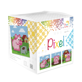 Pixelhobby kubus - biggetjes