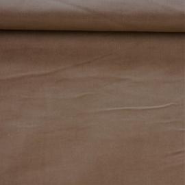 Baby ribfluweel - bruin