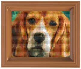 Pixelhobby geschenkverpakking - Beagle