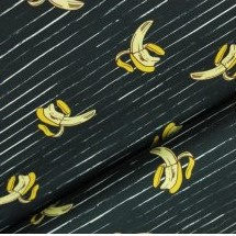 Soft sweat - Stripes banana