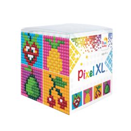 Pixel kubus XL - fruit