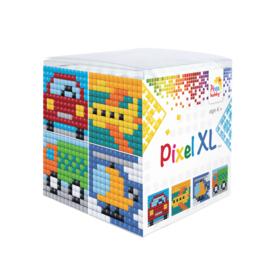 Pixel kubus XL - voertuigen