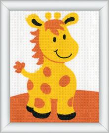 Borduurset - giraffe