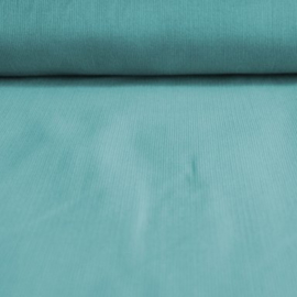 Baby ribfluweel - aqua