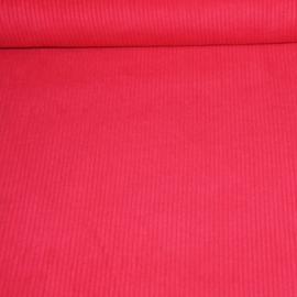 Dikke ribfluweel - rood