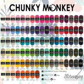Chunky Monkey - andere kleuren