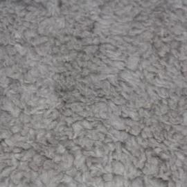 Teddy fleece - grijs