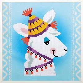 Diamond painting - Lama