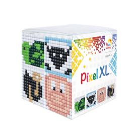 Pixel kubus XL - dieren 2