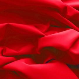 Effen katoen - rood