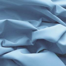 Effen katoen - lichtblauw