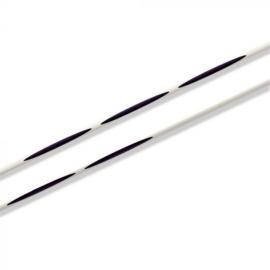 Prym ergonomics breinaalden met knop 40cm - 4.00mm