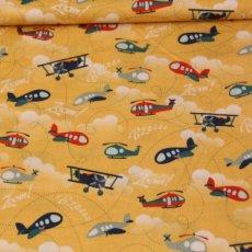 Katoen - Fly aweigh main yellow