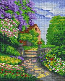 Pixelhobby set - verscholen huis - 9 basisplaten