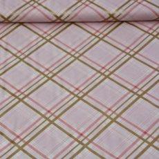 Katoen - Brambleberry bow tie plaid cameo