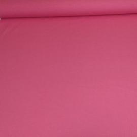 Effen tricot - fel roze