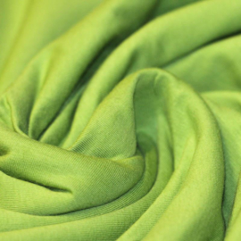 Effen tricot - lime