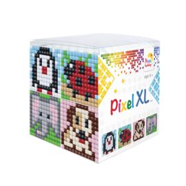 Pixel kubus XL - dieren 3