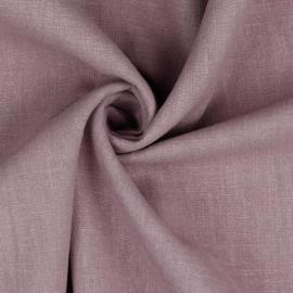 Linen washed - mauve
