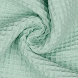 Wafelstof - light mint