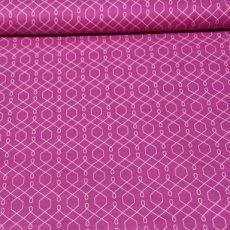 Katoen - Emma's garden lovely lattice violet