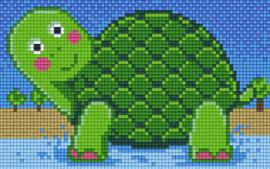 Pixelhobby set - turtle - 2 basisplaten