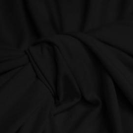 Viscose jersey - zwart