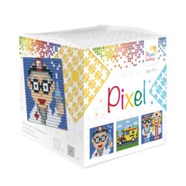 Pixelhobby kubus - ziekenhuis