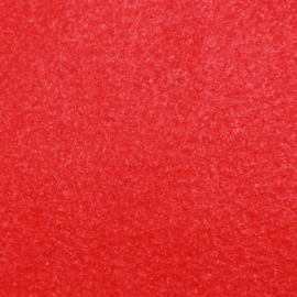 Kortharige fleece - Red
