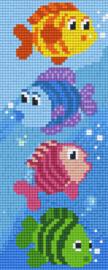 Pixelhobby set - vissen - 2 basisplaten