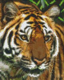 Pixelhobby set - tijger - 4 basisplaten